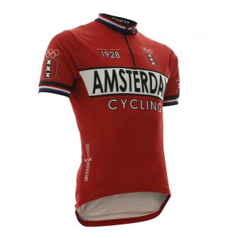 vintage amsterdam wielershirt